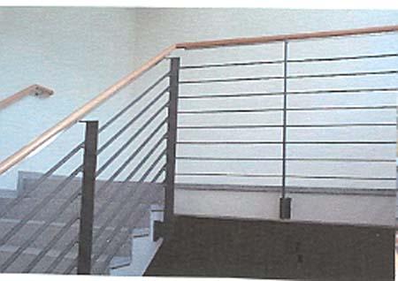 gel nder mit holzhandlauf gel nder f r au en. Black Bedroom Furniture Sets. Home Design Ideas